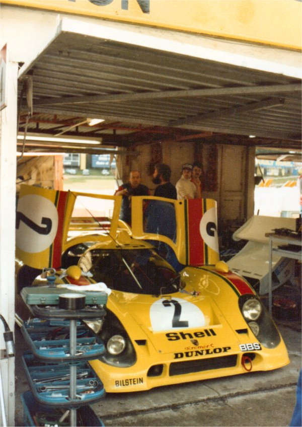 Kremer's Porsche 917 at Brands Hatch