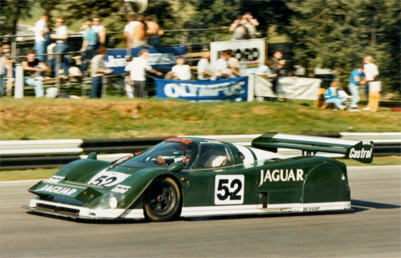 First outing for TWR Group C car at Brands in 1985