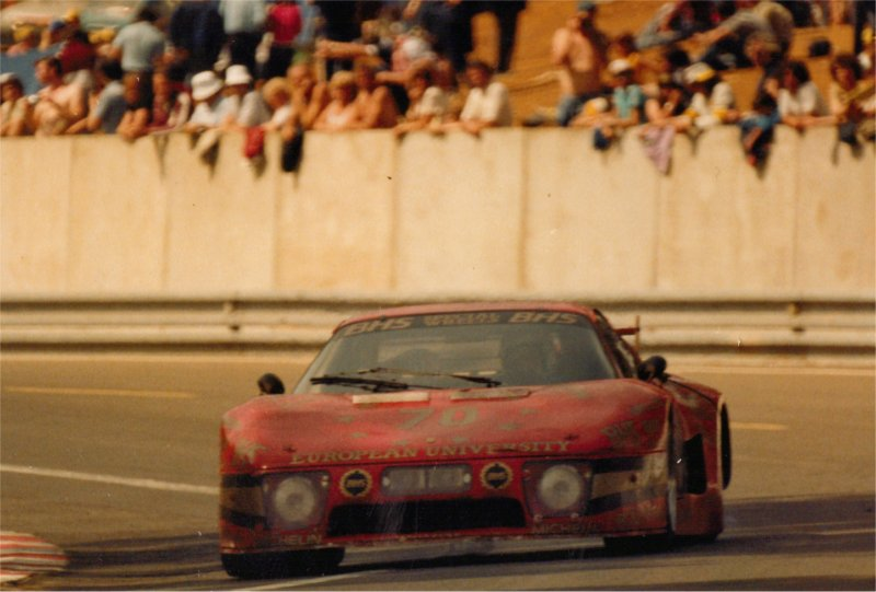 Ferrari 512BB at Le Mans 1983