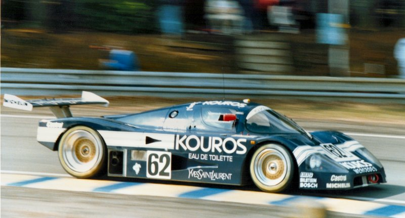 Sauber Mercedes at Le Mans 1987