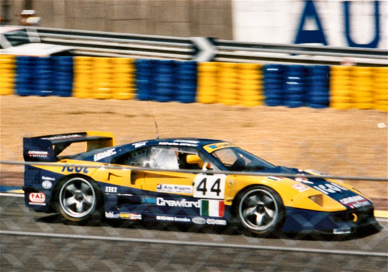 F40 at their last Le Mans, 1996