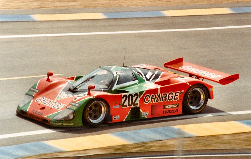 Mazda winners at Le Mans.