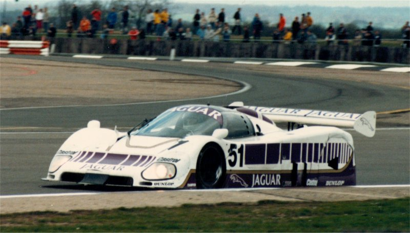 First win for Jaguar - Silverstone 1986